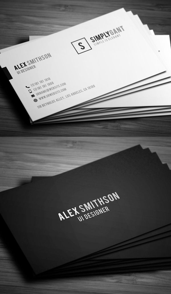 25 New Modern Business Card Templates Print Ready Design