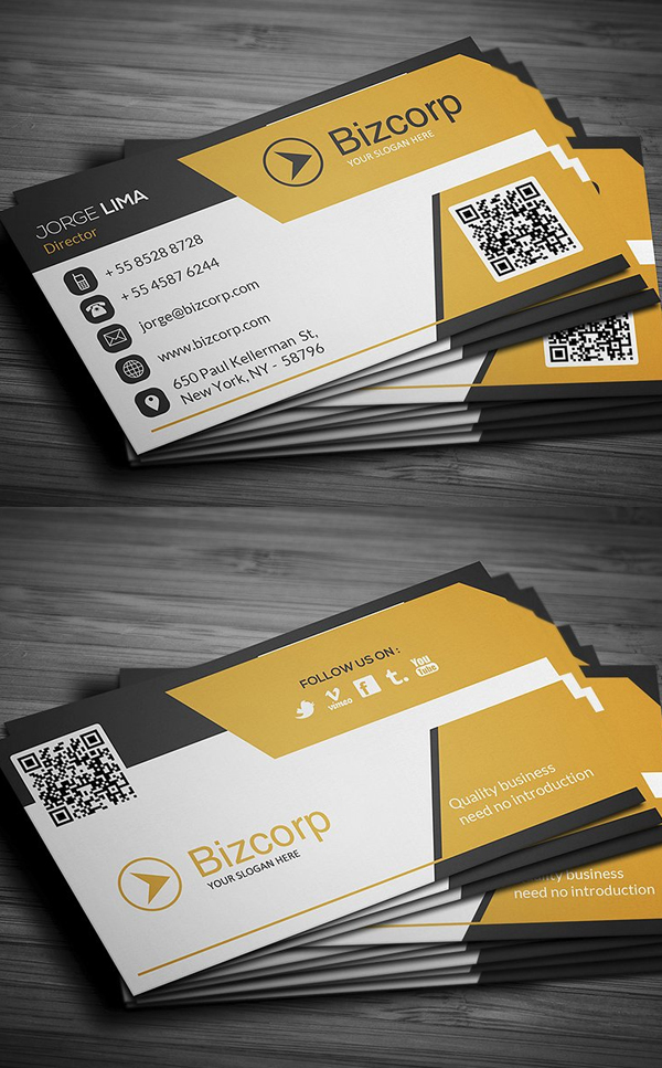 Multipurpose Corporate Business Card Design