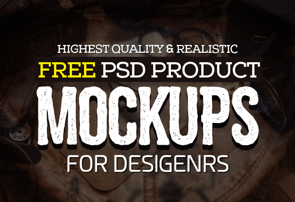 New Free Mockup PSD Templates (26 Product Mock-ups)