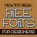 Post thumbnail of 18 Fresh Free Fonts for Graphic Designers