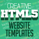 Post Thumbnail of 25 Fresh Creative HTML5 Website Templates (PSD & HTML)