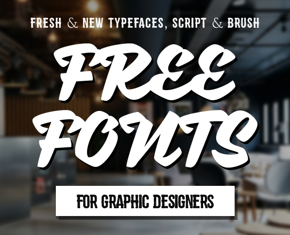 22 New Free Fonts for Graphic Designers