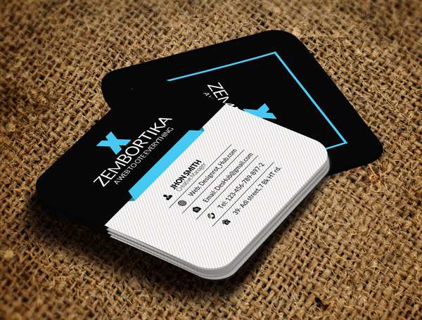 Small Social Card Template