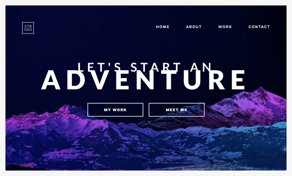 Web Design Agencies Websites: 26 Creative Web Examples - 1