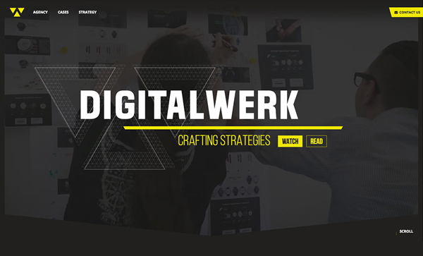 Web Design Agencies Websites: 26 Creative Web Examples - 10