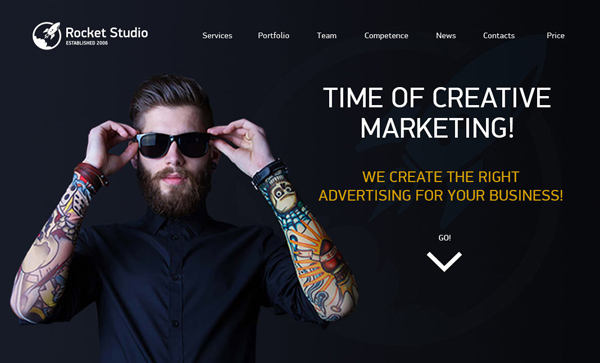 Web Design Agencies Websites: 26 Creative Web Examples - 11