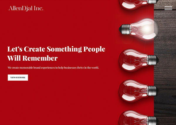 Web Design Agencies Websites: 26 Creative Web Examples - 14