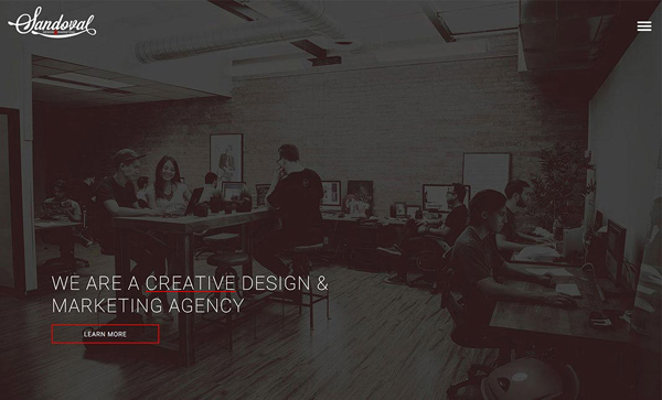 Web Design Agencies Websites: 26 Creative Web Examples - 2