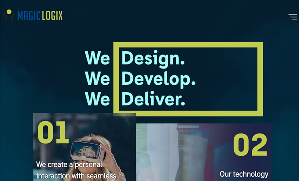 Web Design Agencies Websites: 26 Creative Web Examples - 24