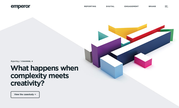 Web Design Agencies Websites: 26 Creative Web Examples - 26