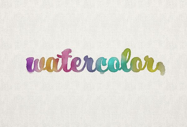 How to Create a Watercolor Inspired Text Effect in Adobe Photoshop