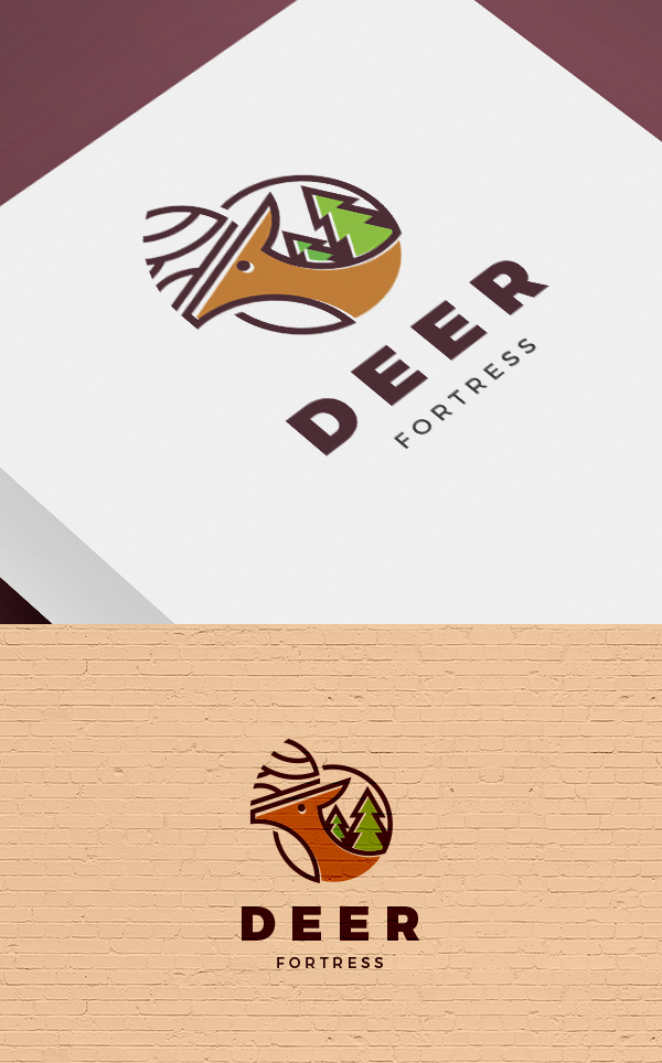 Deer - Animal Logo