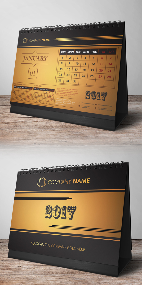 31 new useful free photoshop psd files for ui designers freebies free desk calendar design 2017 reheart Image collections