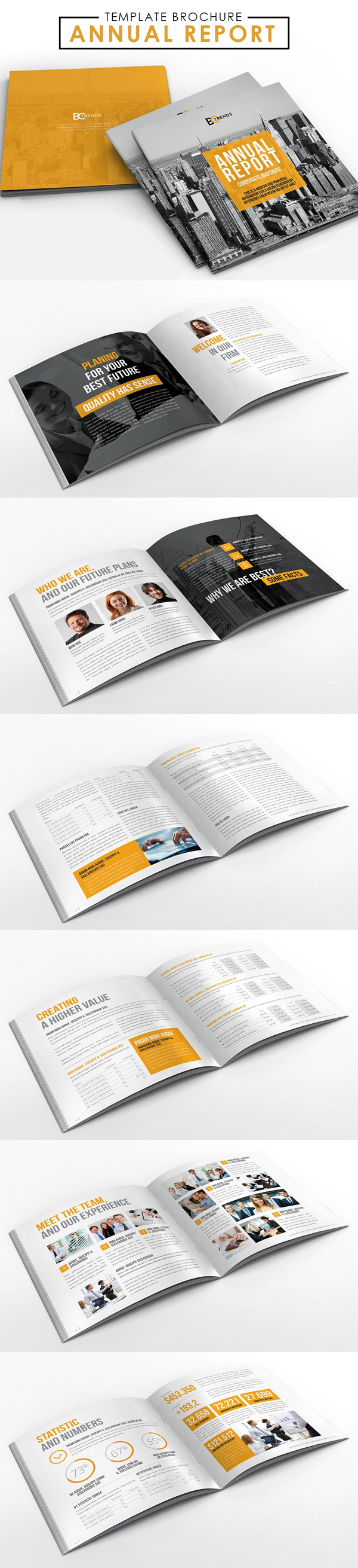 100 Professional Corporate Brochure Templates - 17