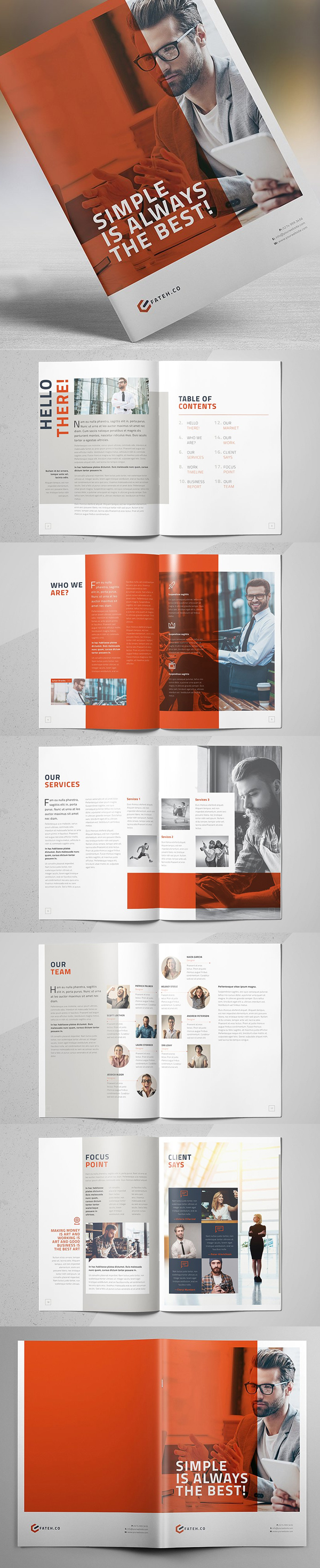 brochure templates for pages choice image
