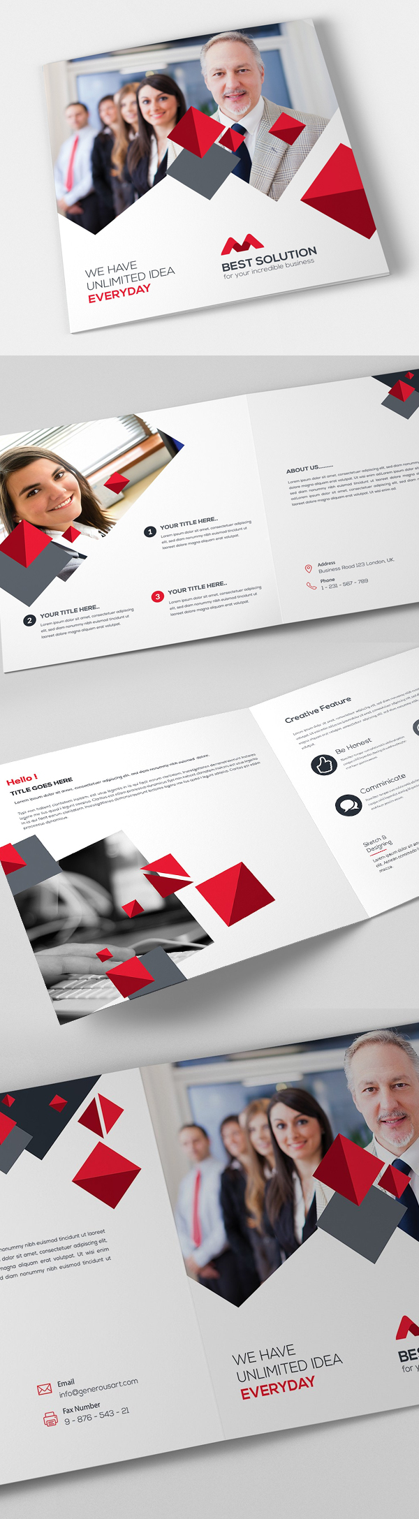 100 Professional Corporate Brochure Templates - 34