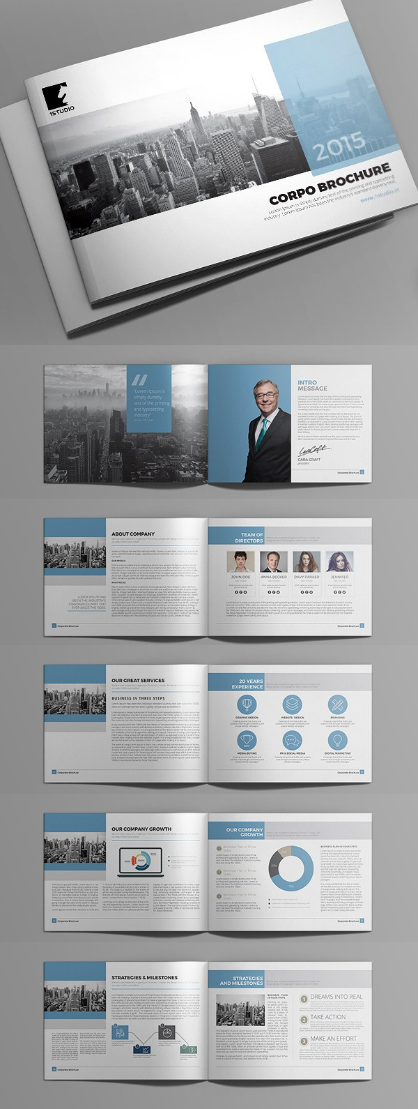 design brochure templates gallery
