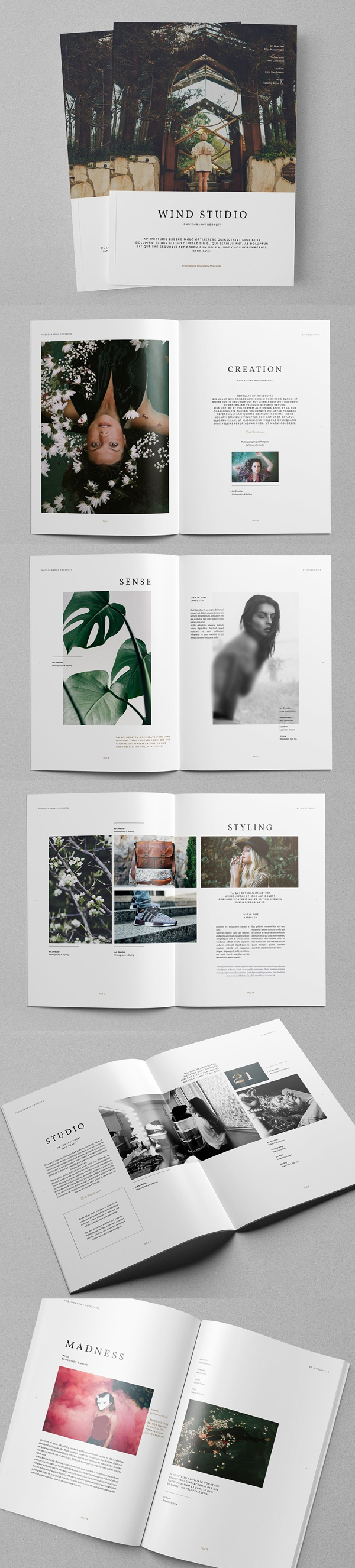 Photography Portfolio Brochure Template