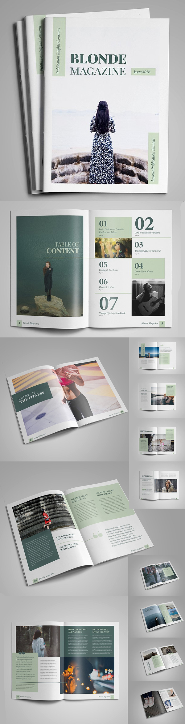 100 Professional Corporate Brochure Templates - 21