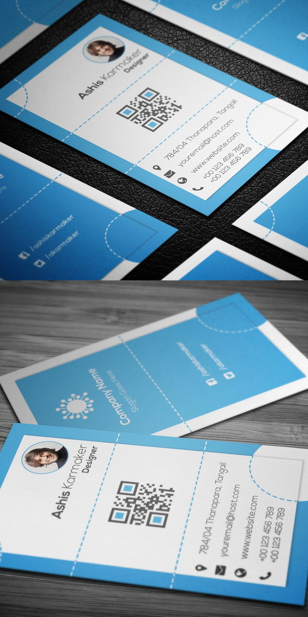 Dots Business Card Template
