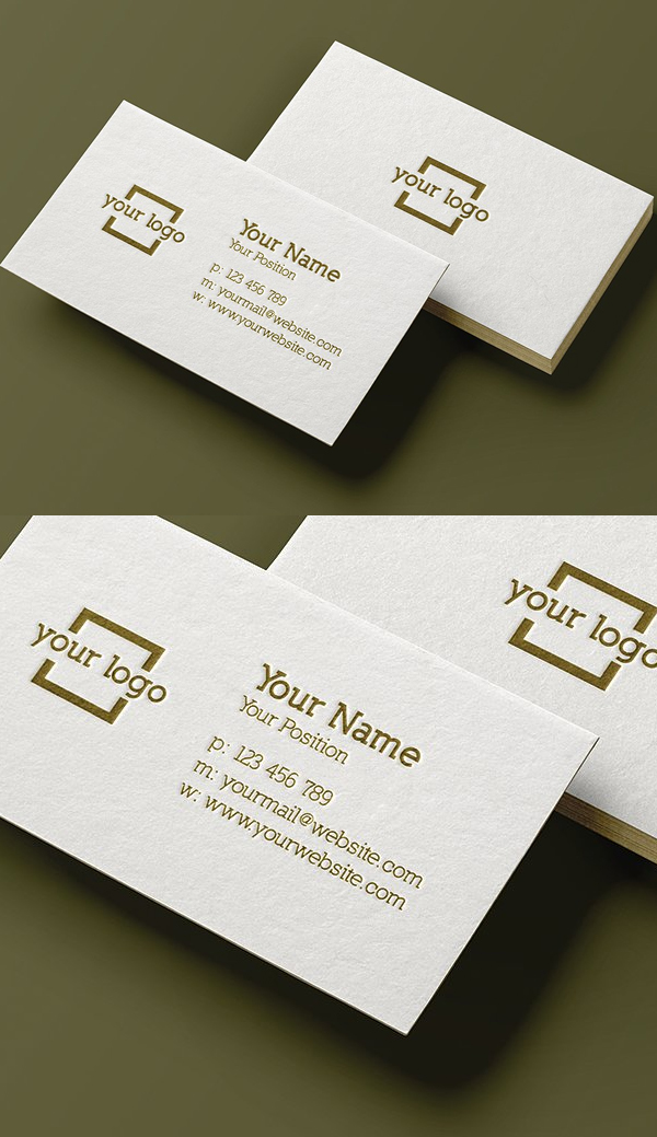 30 minimalistic business card designs psd templates design minimalist business card template accmission Choice Image