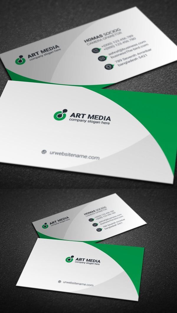 Professional Business Card Templates Free