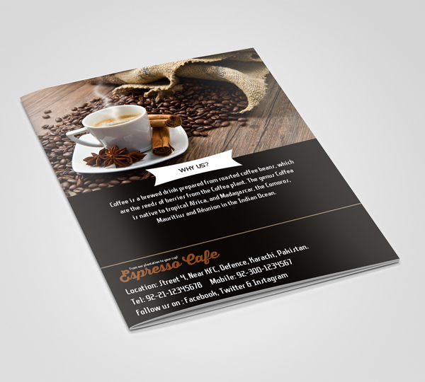 Free Psd Bifold Brochure Template | Freebies | Graphic Design Junction