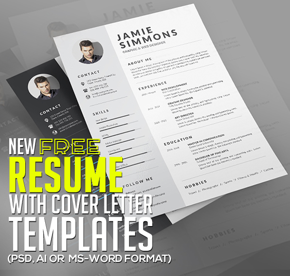 21 fresh free resume templates with cover letter - Free Resume And Cover Letter Templates