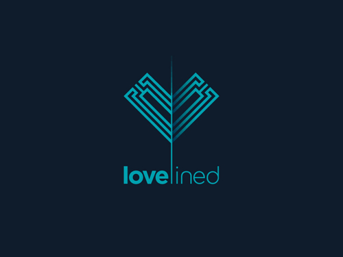 Love Lined Logo Mark by ZO FRIS