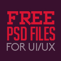 Post thumbnail of 29 New Free Photoshop PSD Files for UI Designers