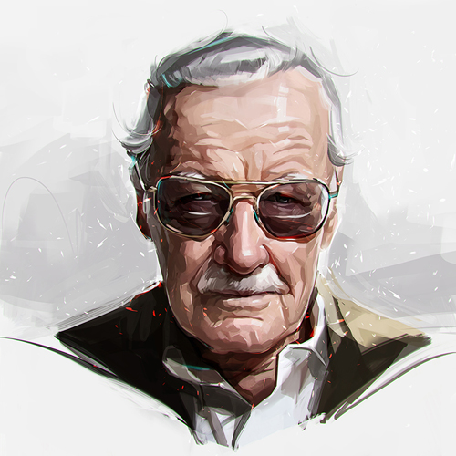 Stan Lee Portrait