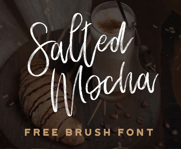 Best free brush fonts for designers fonts graphic design