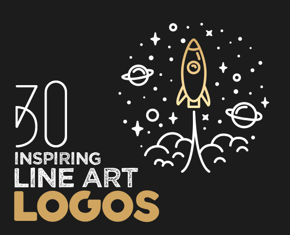 30 New Modern Line Art Logo Designs for Inspiration