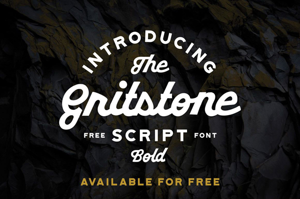 Gritstone Free Font