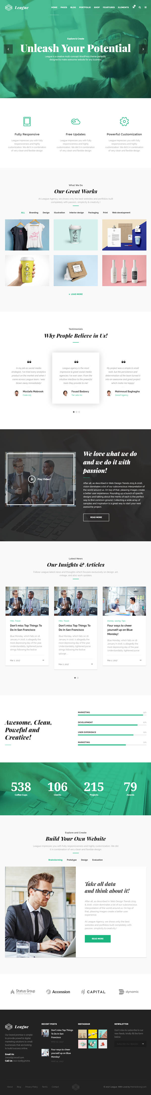 League-Creative-Multi-Purpose-WordPress-Theme