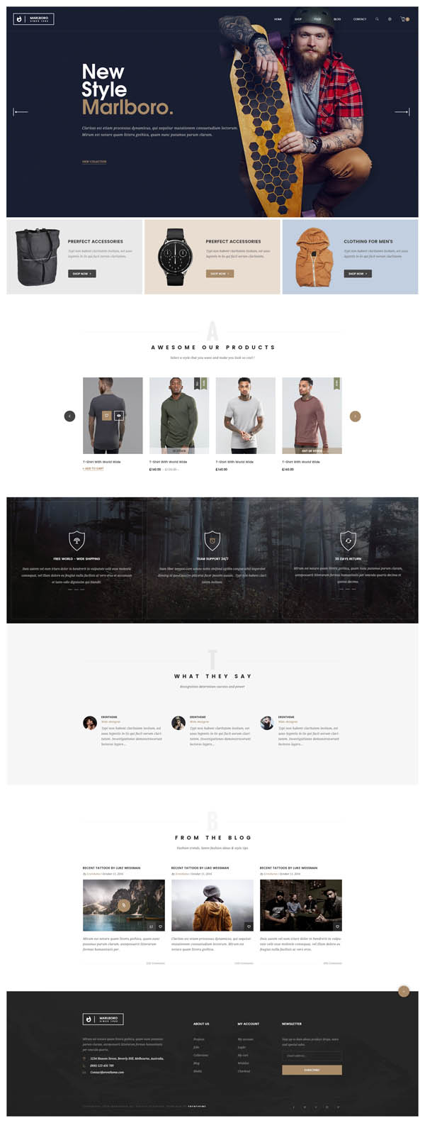 Marlboro : WooCommerce Responsive Fashion Theme