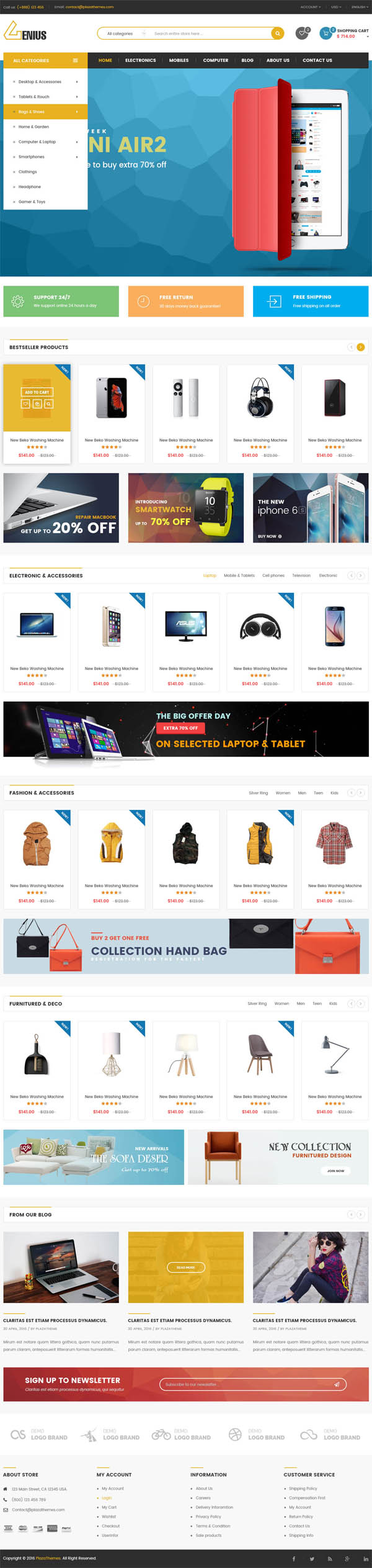 VG Pomer : Perfume Store WooCommerce WordPress Theme