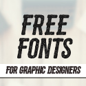 Post Thumbnail of New Free Fonts - 21 Fonts For Designers