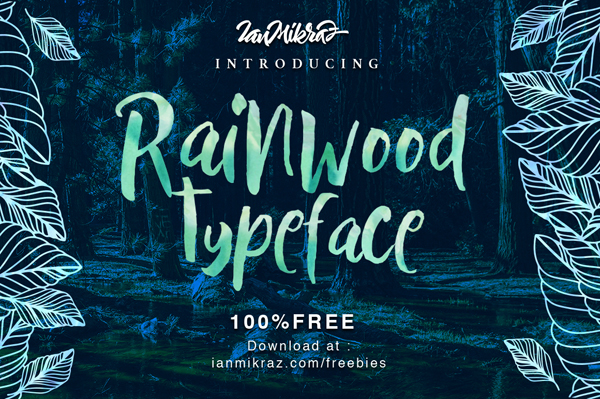 40 Best Free Brush Fonts for Designers | Fonts | Graphic