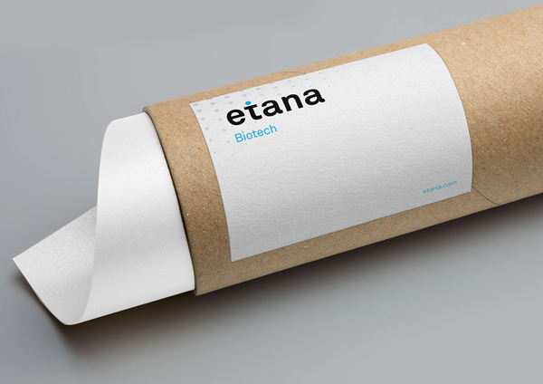 Branding: etana BioTech - Stationary Items