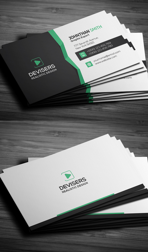 27 new professional business card psd templates design graphic premium business card templates cheaphphosting Choice Image