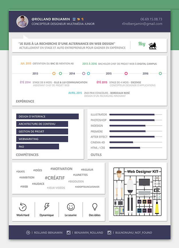 free modern resume psd template - Free Resume Download Templates