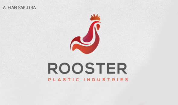 50 Creative Rooster Logo Designs for Inspiration - 39