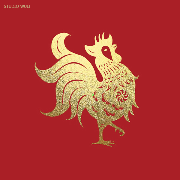 50 Creative Rooster Logo Designs for Inspiration - 43