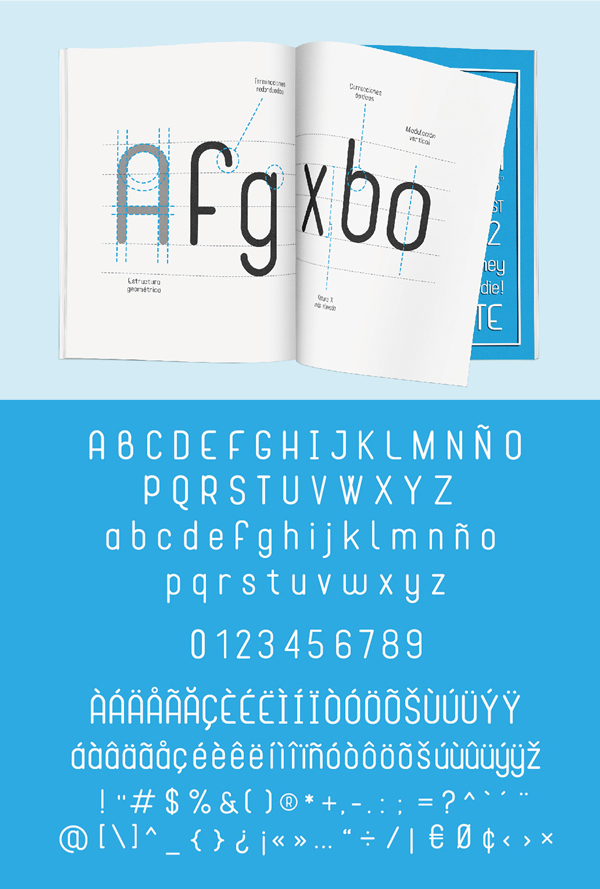 Cona Font Letters