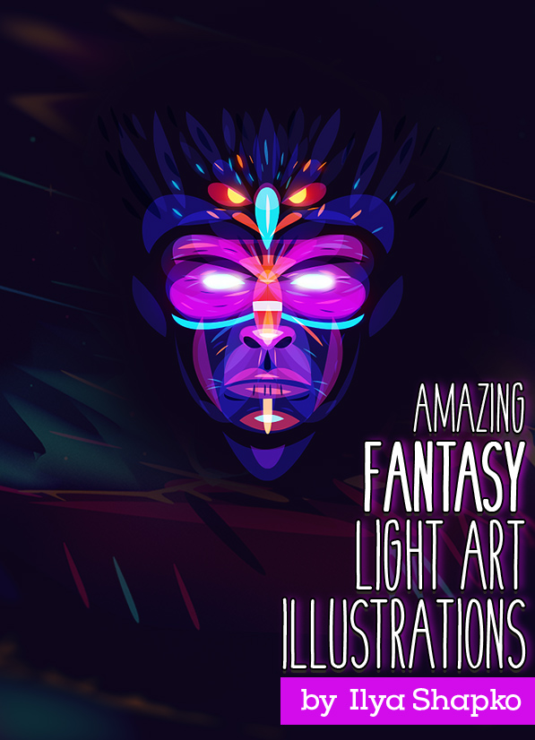 Amazing Fantasy Light Artwork By Ilya Shapko