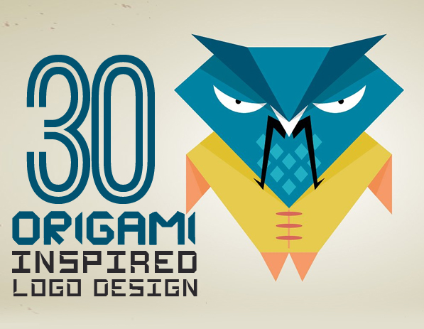 30 amazing origami inspired logo designs logos graphic