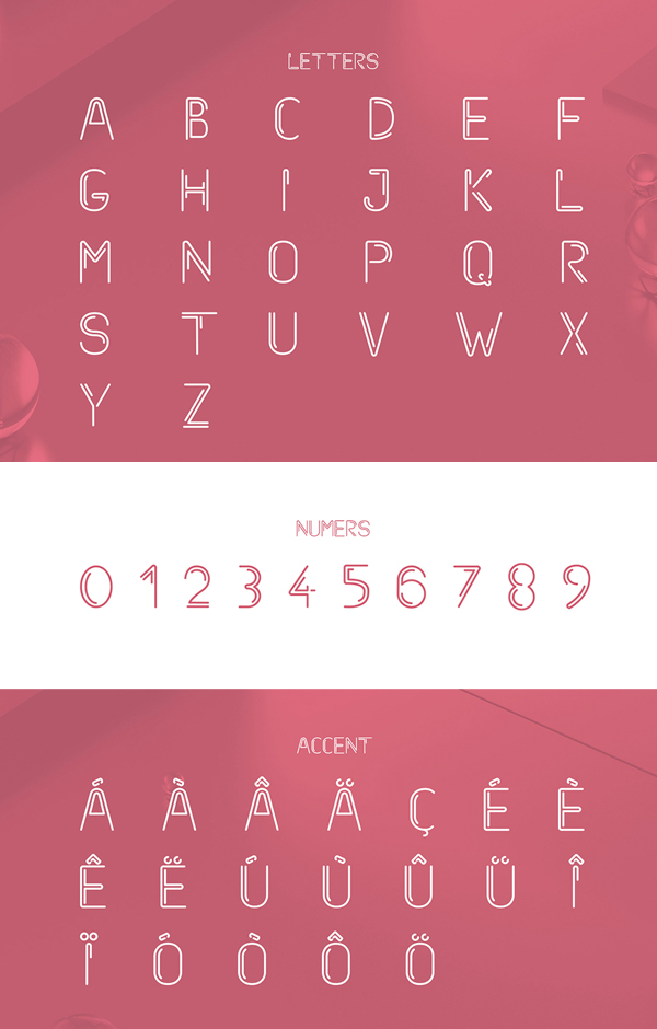 Starway Font Letters