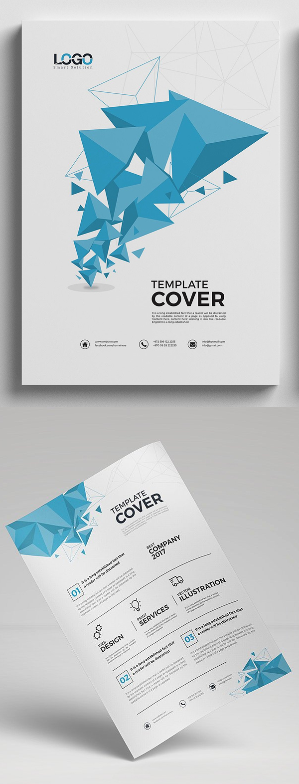 Abstract Modern Business Flyer