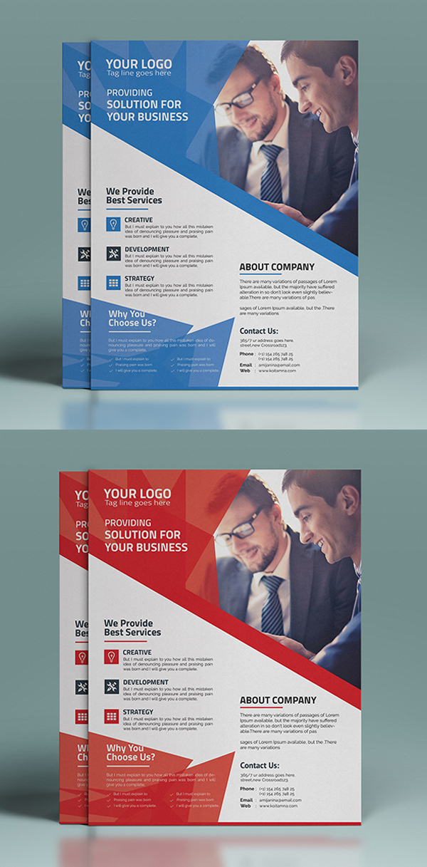 Print Ready CMYK Flyer Template